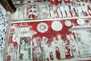 Fresco-Panamura-Valalgoda Purana Tempita Viharaya-Nuwan Jayasekara-Sri Lanka