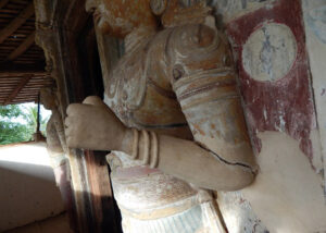 Mura Statue-Panamura-Valalgoda Purana Tempita Viharaya-Nuwan Jayasekara-Sri Lanka